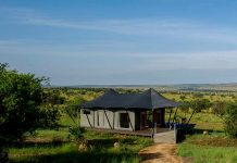 The new luxury Mara Mara Tented Lodge has been opened in the northern Serengeti, Tanzania