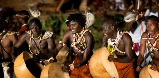 Uganda Cultural dance Performances and dinner