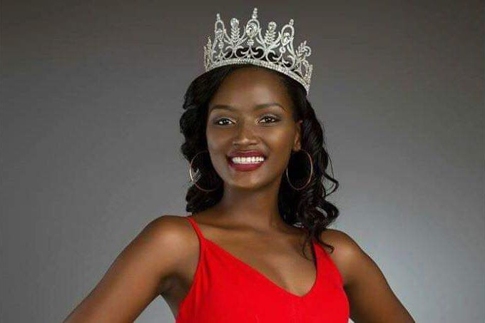 Miss Uganda Abenakyo Returns Home
