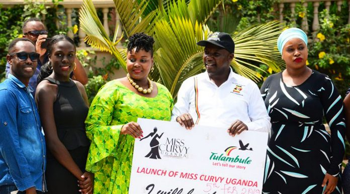 Miss Curvy, a pageant to boost tourism in Uganda.