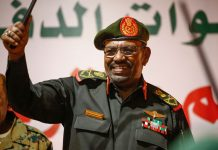 Sudanese President Omar Al-Bashir has stepped down