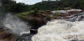 Murchison falls threatened: Proposed sight for constructing the Hydro power plant