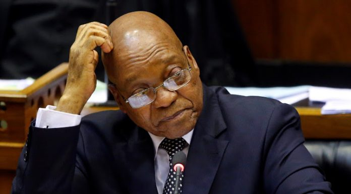 South Africa's former President, Jacob Zuma to give evidence on state capture
