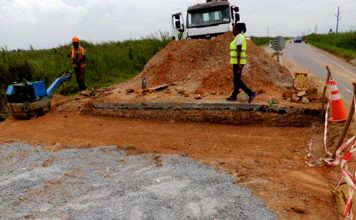 Road construction: Arab Contractor workers laid their tools over poor working conditions and little pay